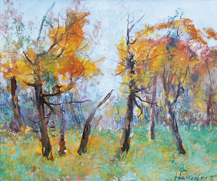 Осенняя прелюдия, Башарин Николай