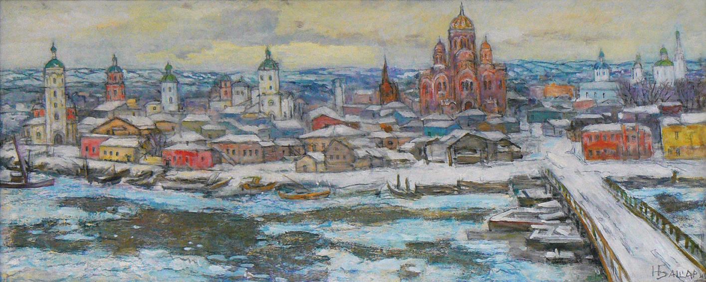 Иркутск ХIХ век, Башарин Николай