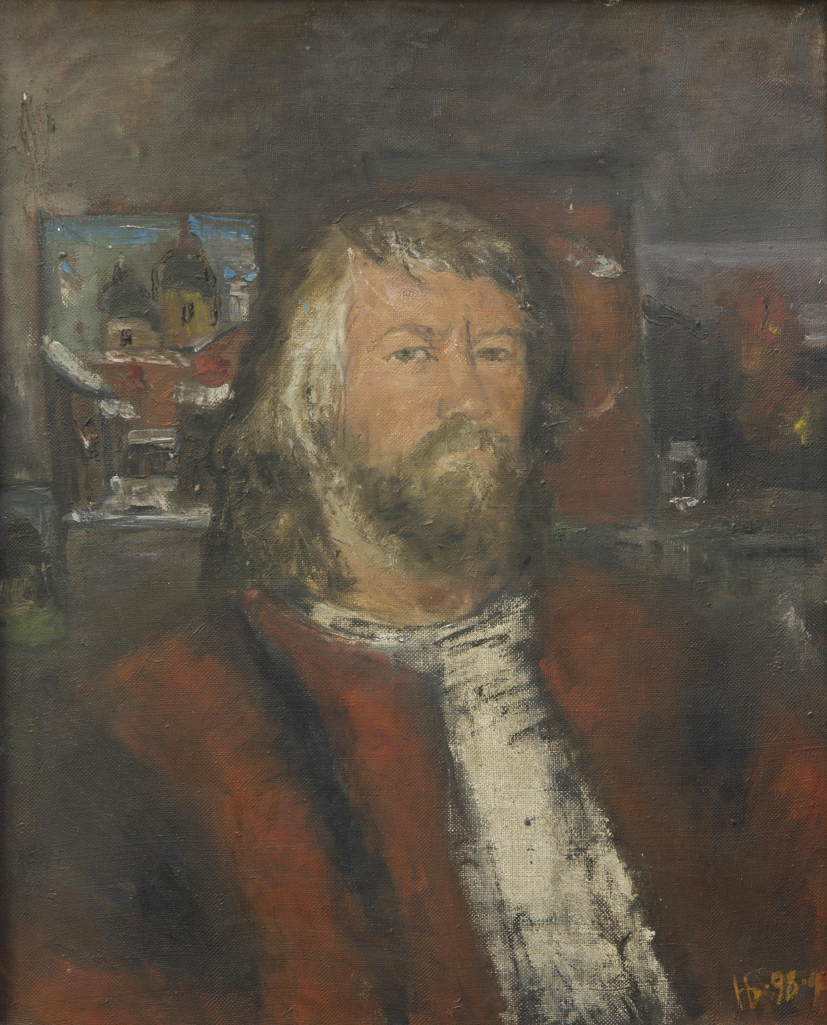 Автопортрет, Башарин Николай