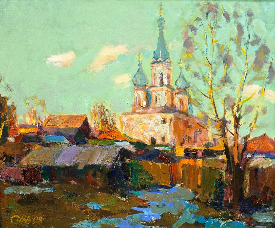 Весенний Иркутск, Жилин Сергей