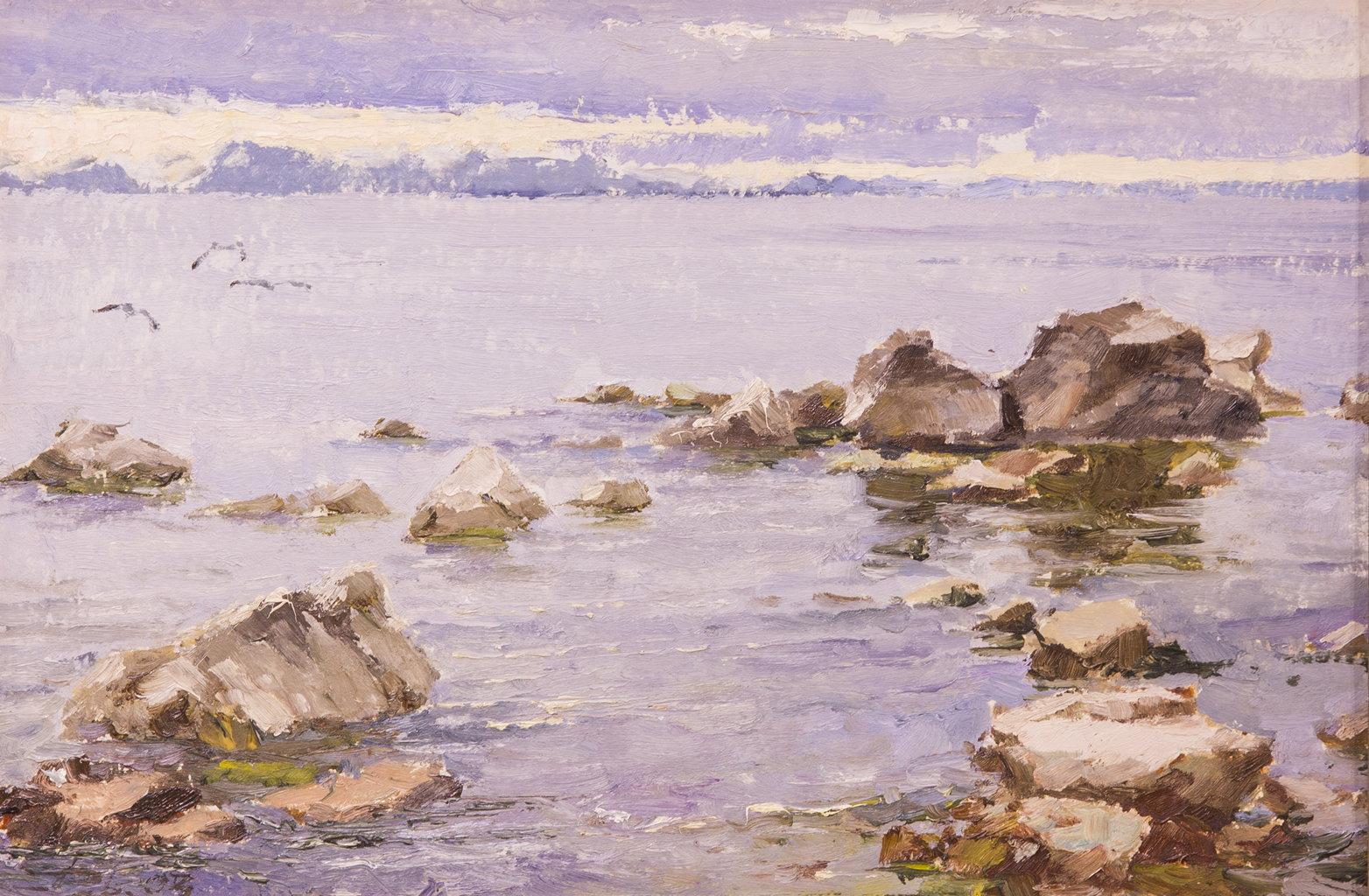 Пейзаж, Зверев Валерий