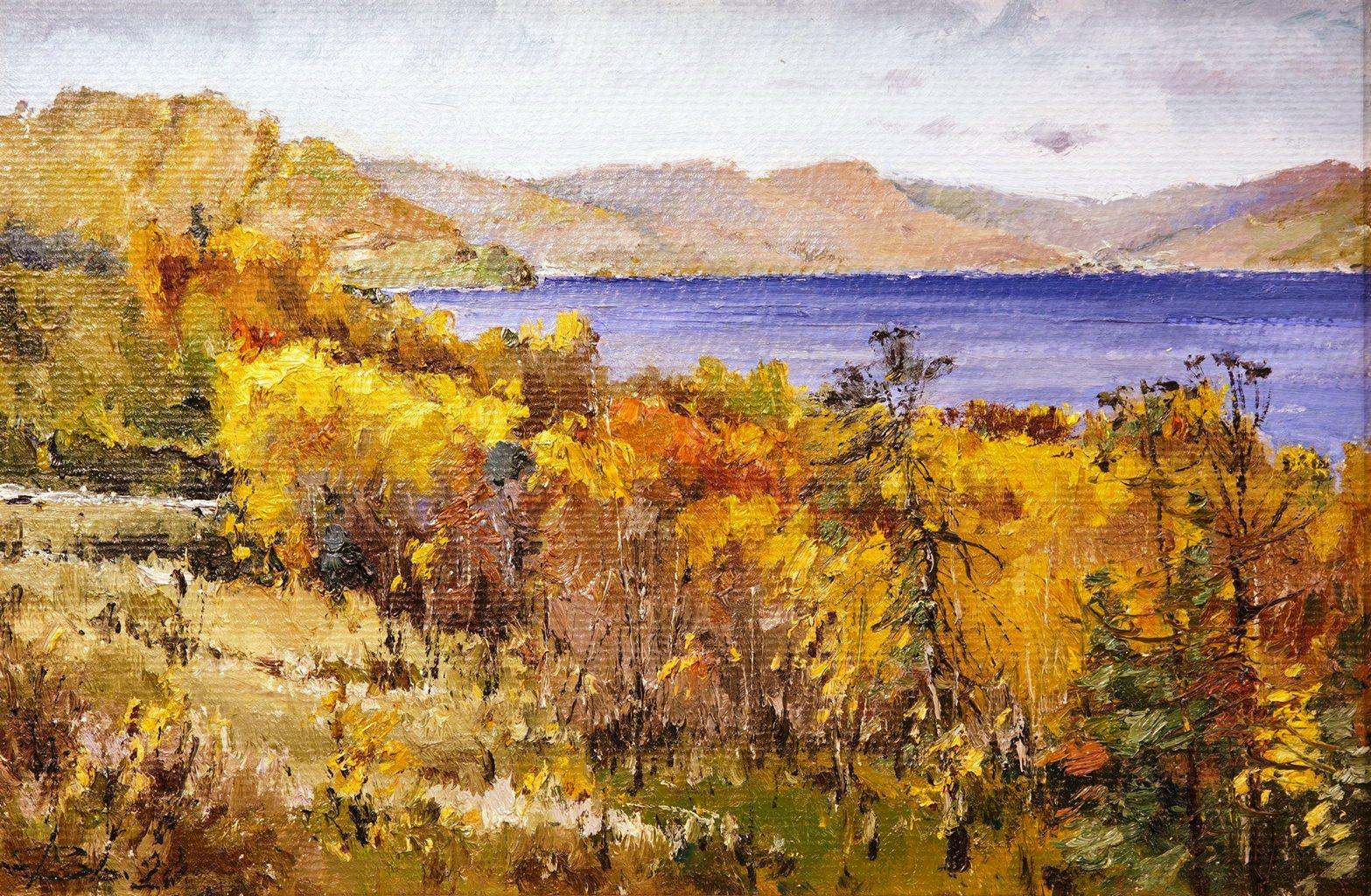 Осень на Байкале, Зверев Валерий