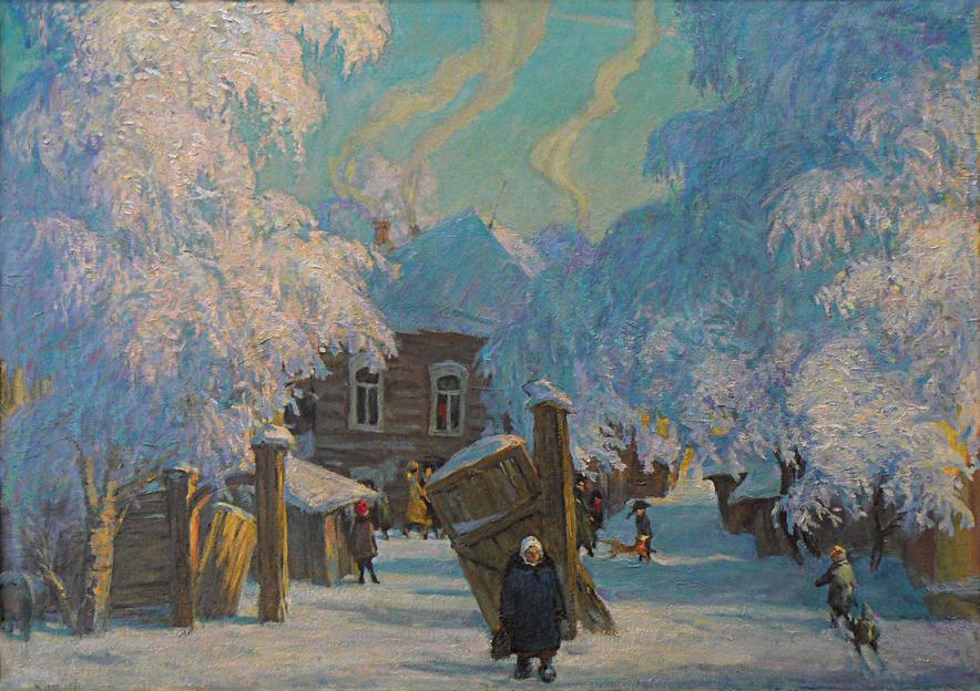Иркутск в Рождество, Казанцев Сергей
