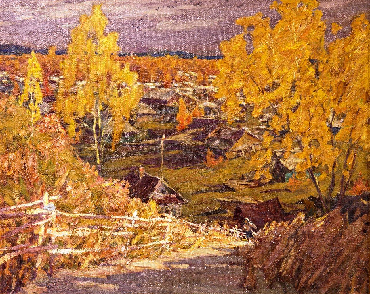 Осень в Рабочем, Казанцев Сергей