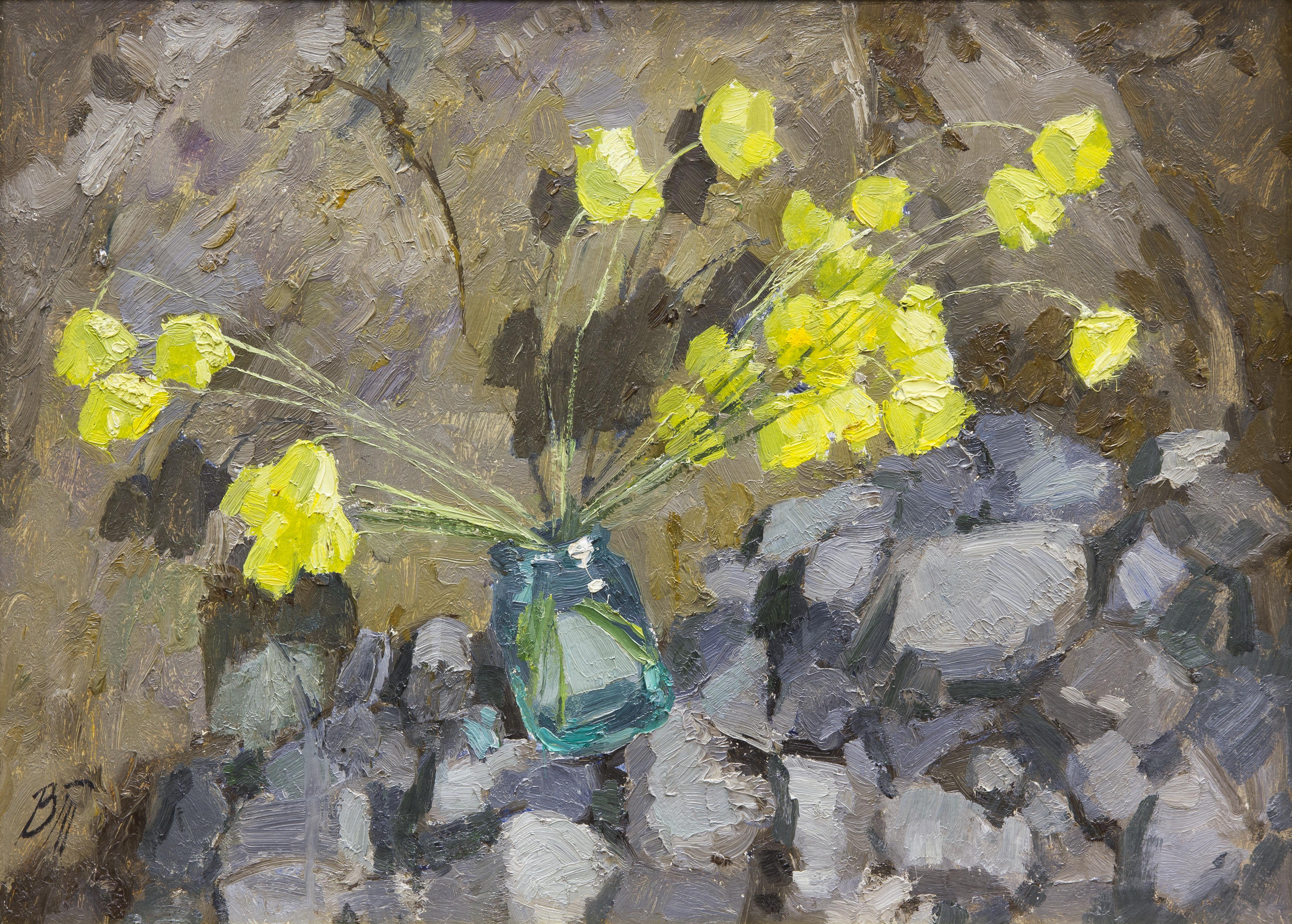 Букет желтых цветов, Тетенькин Владимир