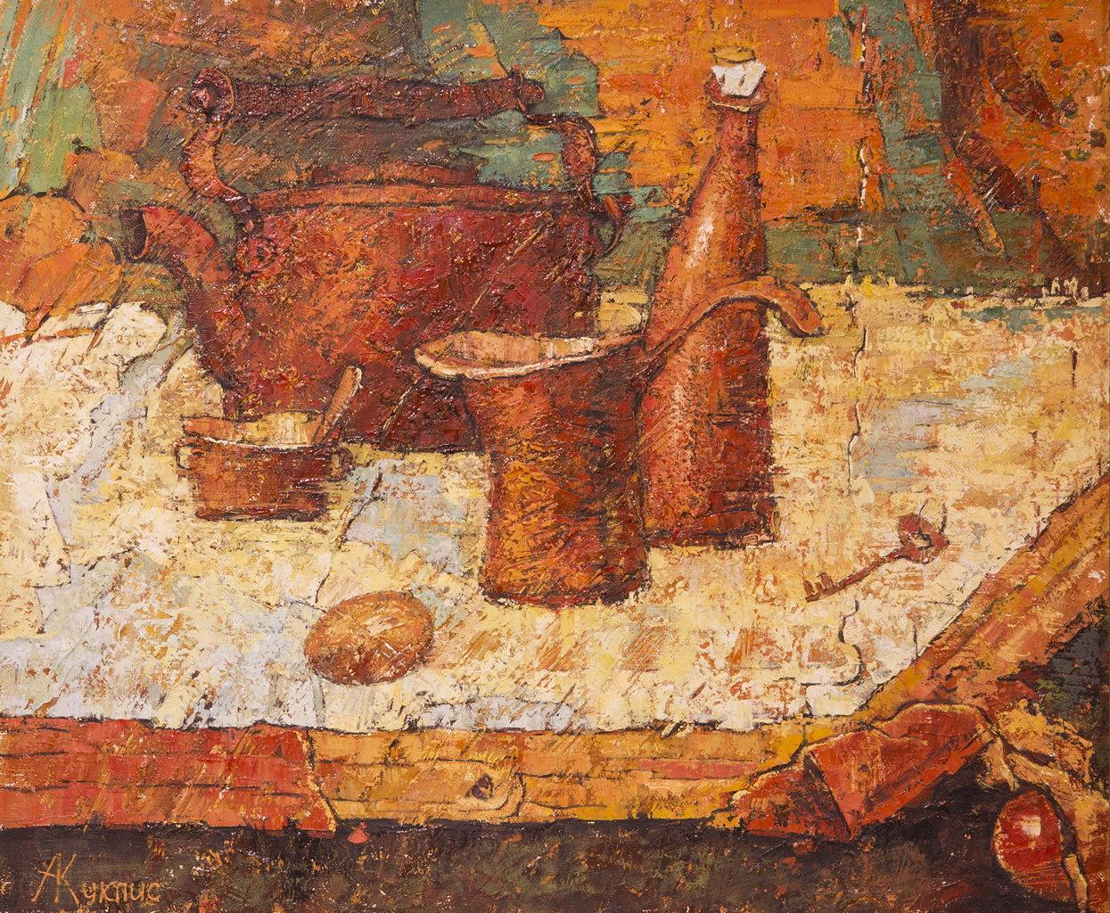 Красный натюрморт, Куклис Александр