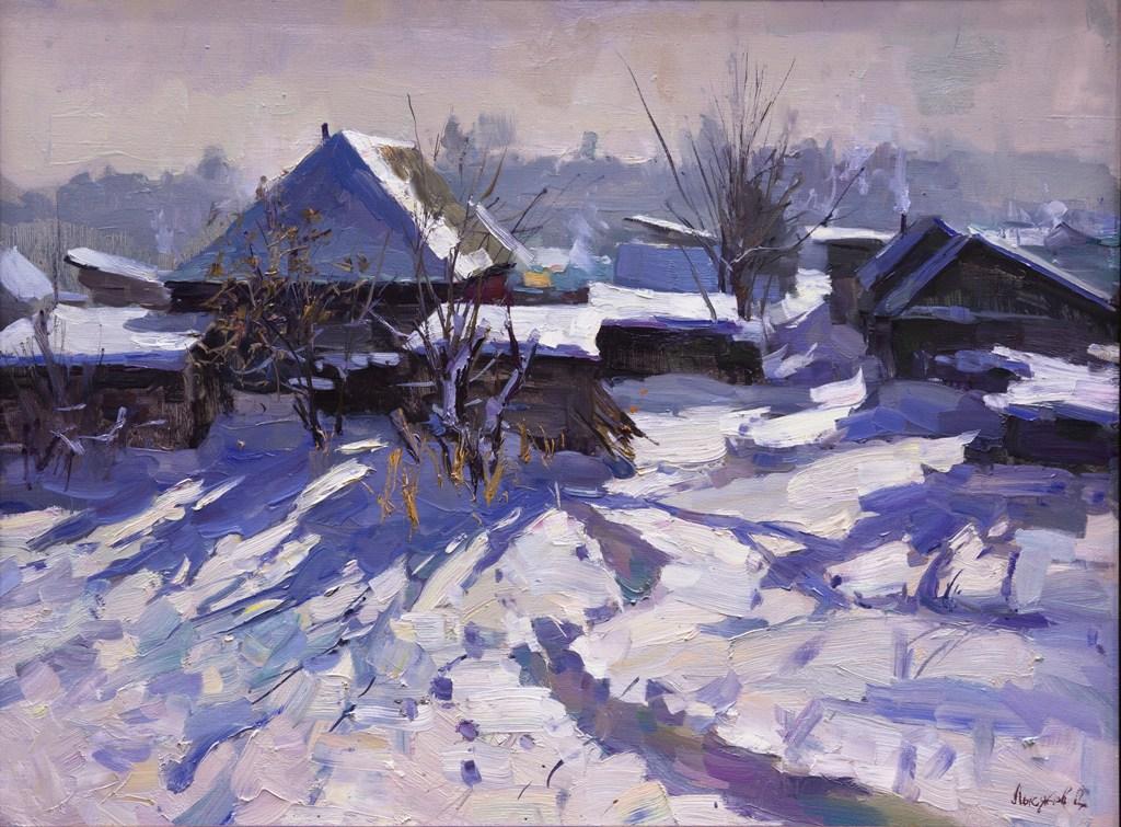 Зимнее утро, Лысяков Дмитрий