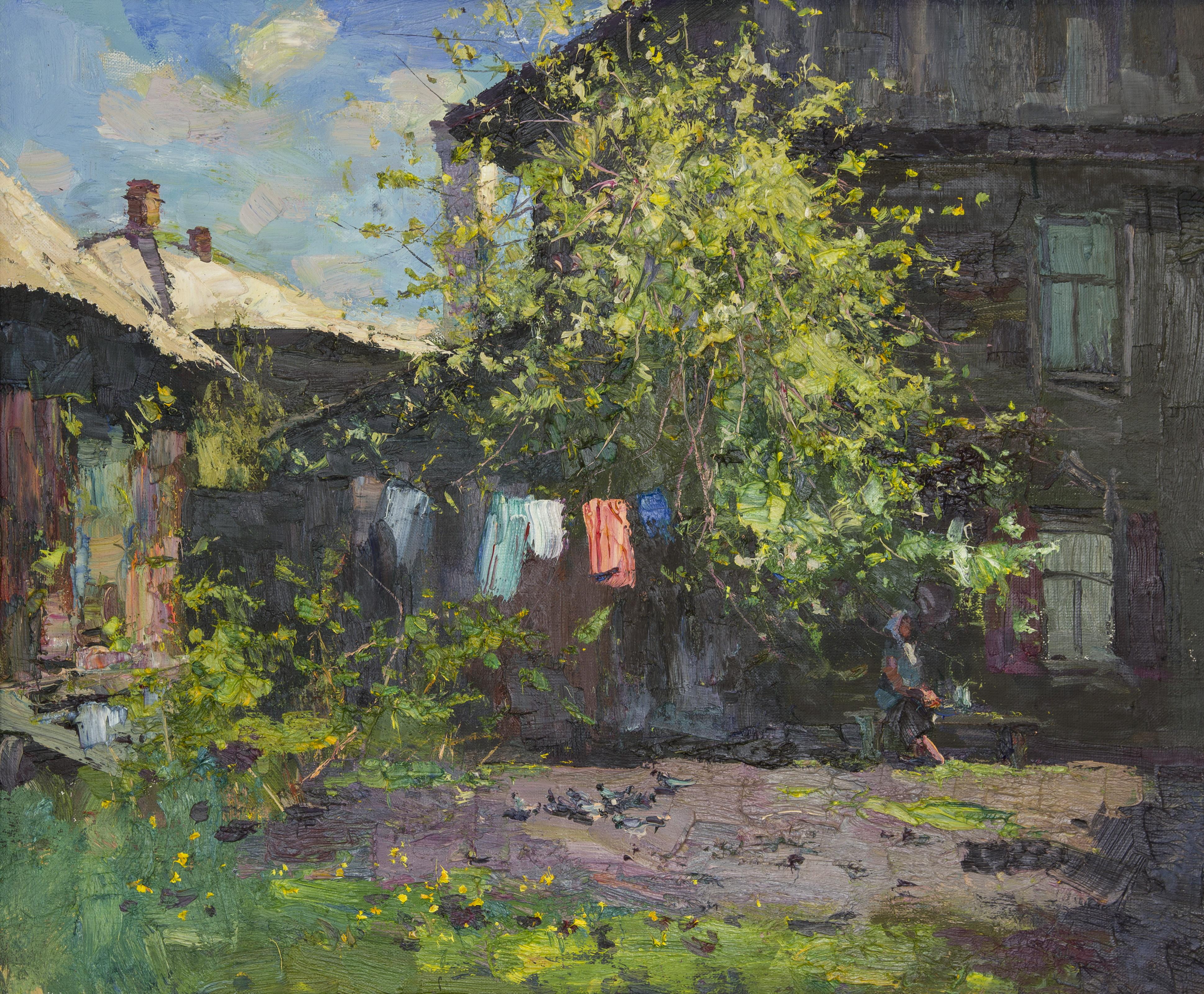 Деревенский дворик, Лысяков Дмитрий