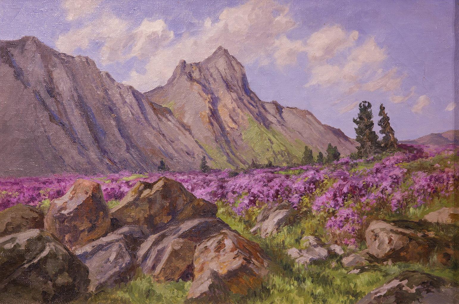 Весной на вершинах, Лебединский Борис