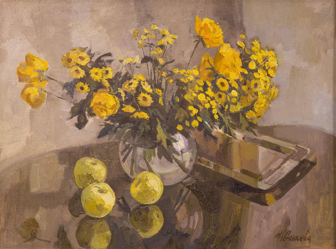 Желтый букет, Сысоева Наталья