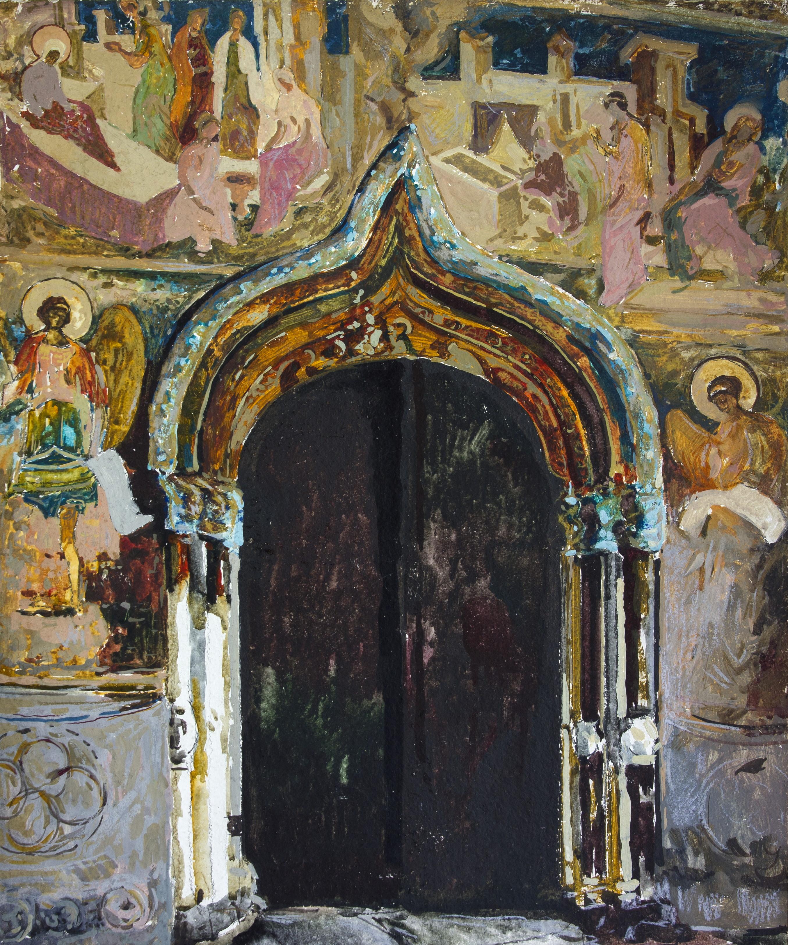 Портал собора, Бочанцев Василий