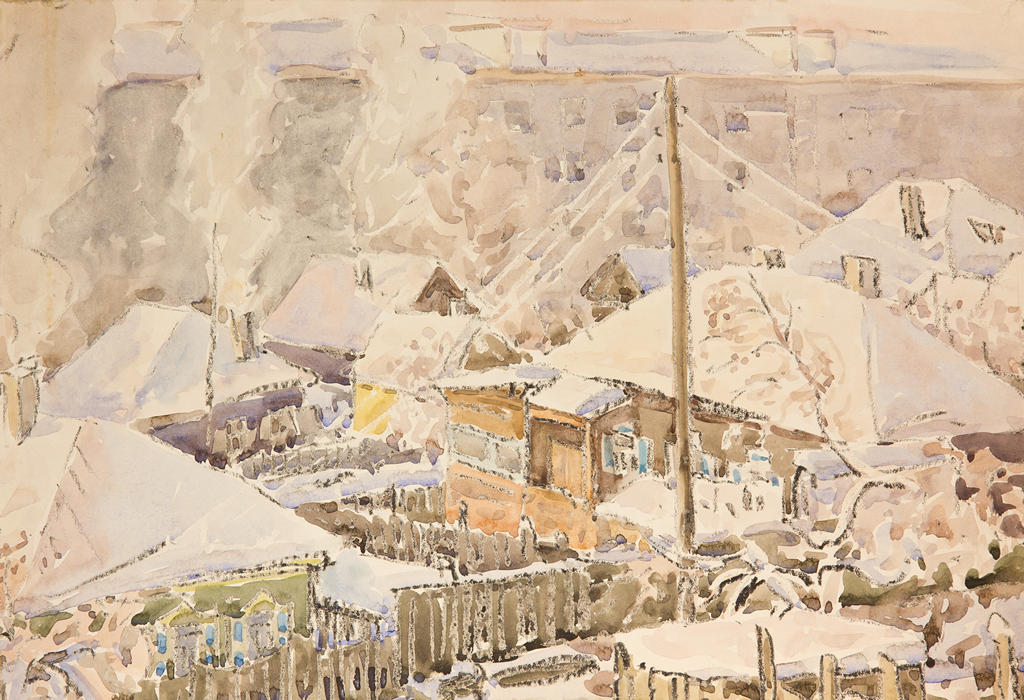 Дом с зелеными ставнями, Ушаков Евгений