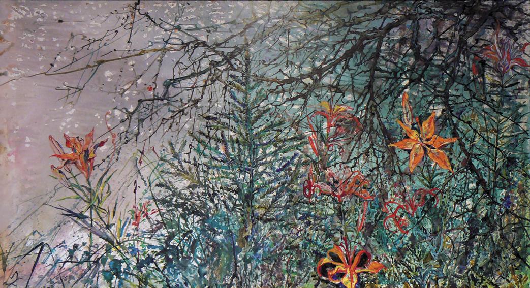 Цветы и блики, Москвитин Александр